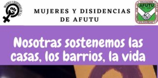 Afiche 8M Huelga Feminista 2021